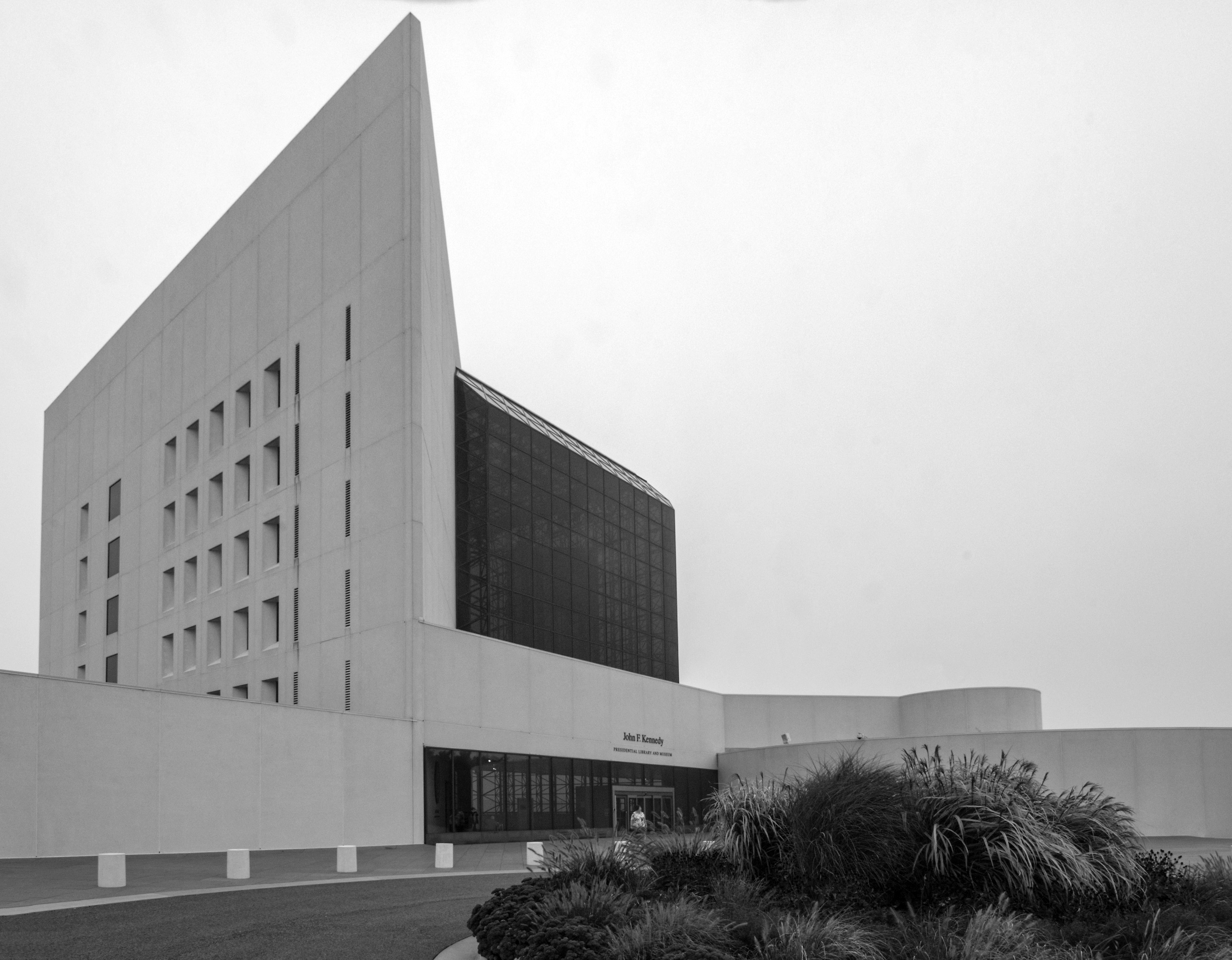 Kennedy Library, Columbia Point, Boston
