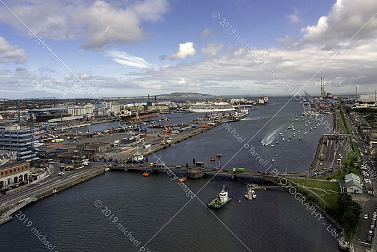Dublin Port - An Elevated View