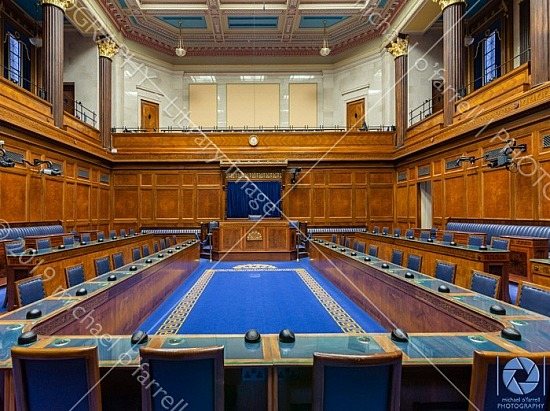 Parliament Chamber at Stormont
