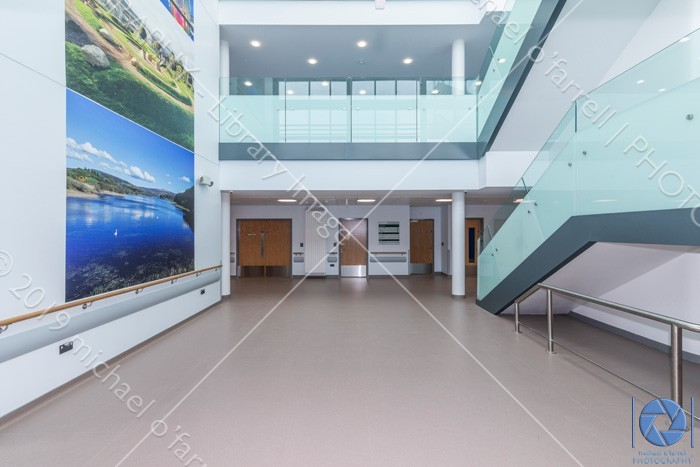 New Healthcare Facility at Tymon North  building interior & exteriors,modern healthcare facility at tymon north tallaght,public building interior,tallaght medical centre,tymon north nursing unit,